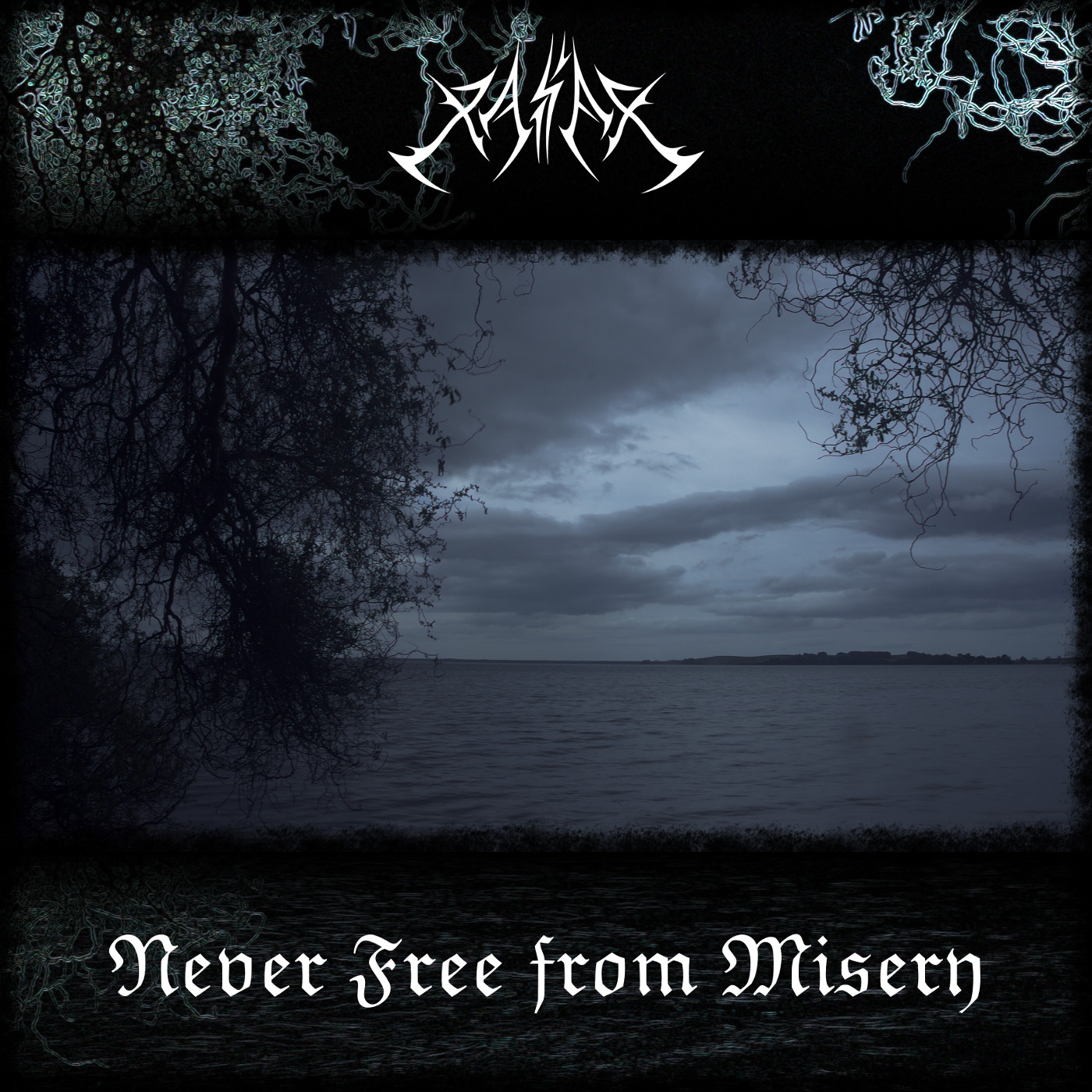 Album cover to Never Free from Misery