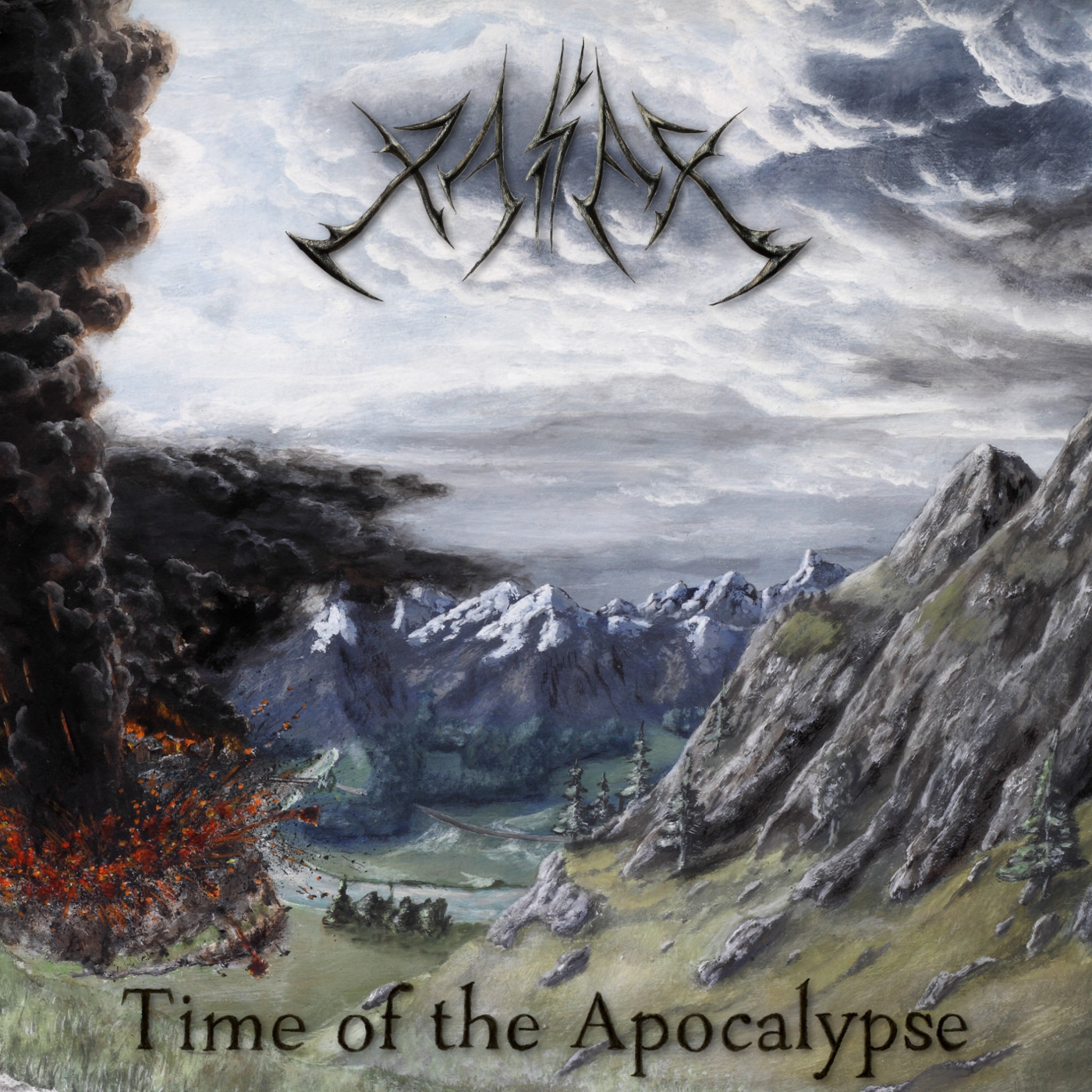 Album cover to Time of the Apocalypse
