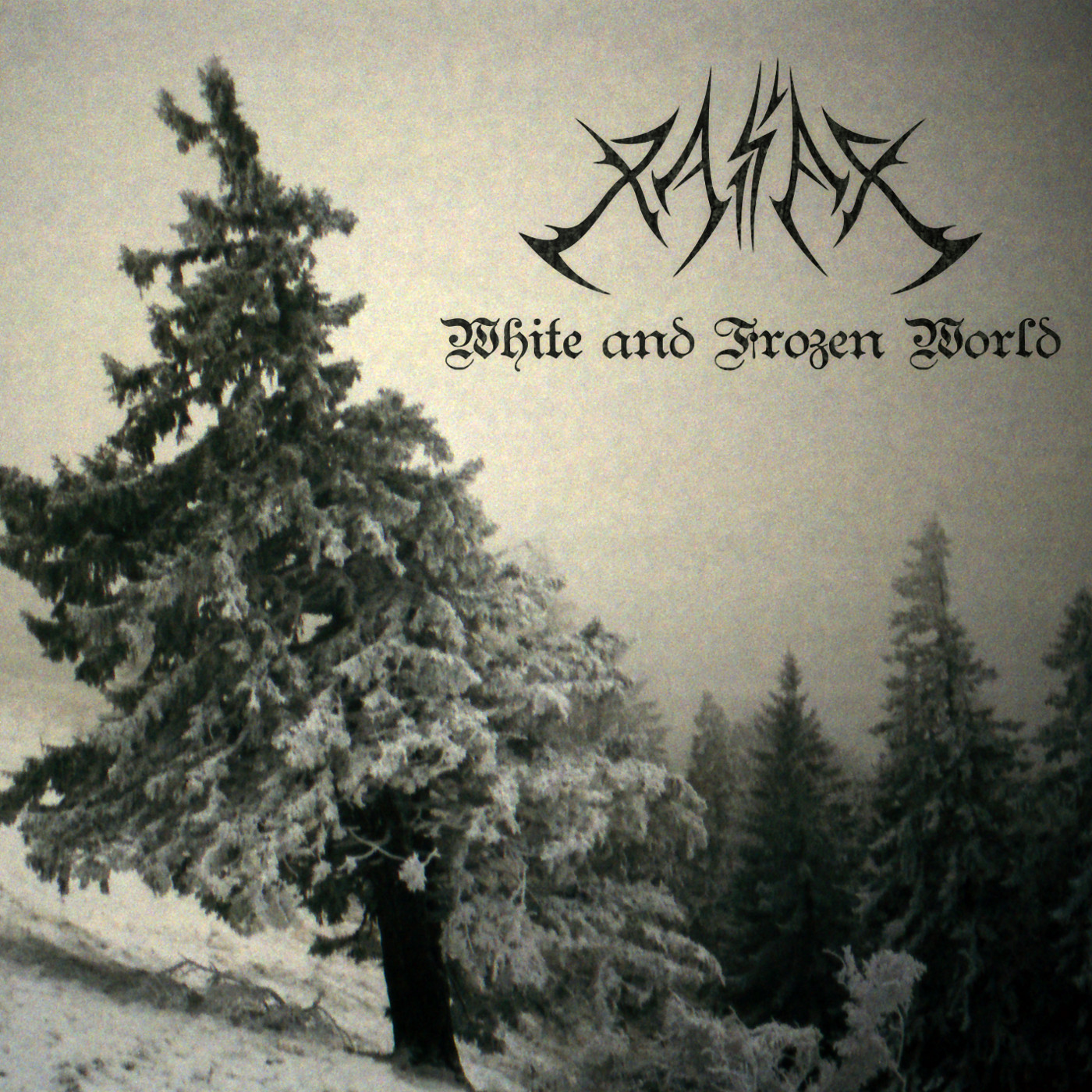Album cover to White and Frozen World